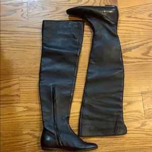 Giuseppe Zanotti leather Over the knee boots